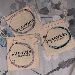 bundle of Pura Vida bracelets